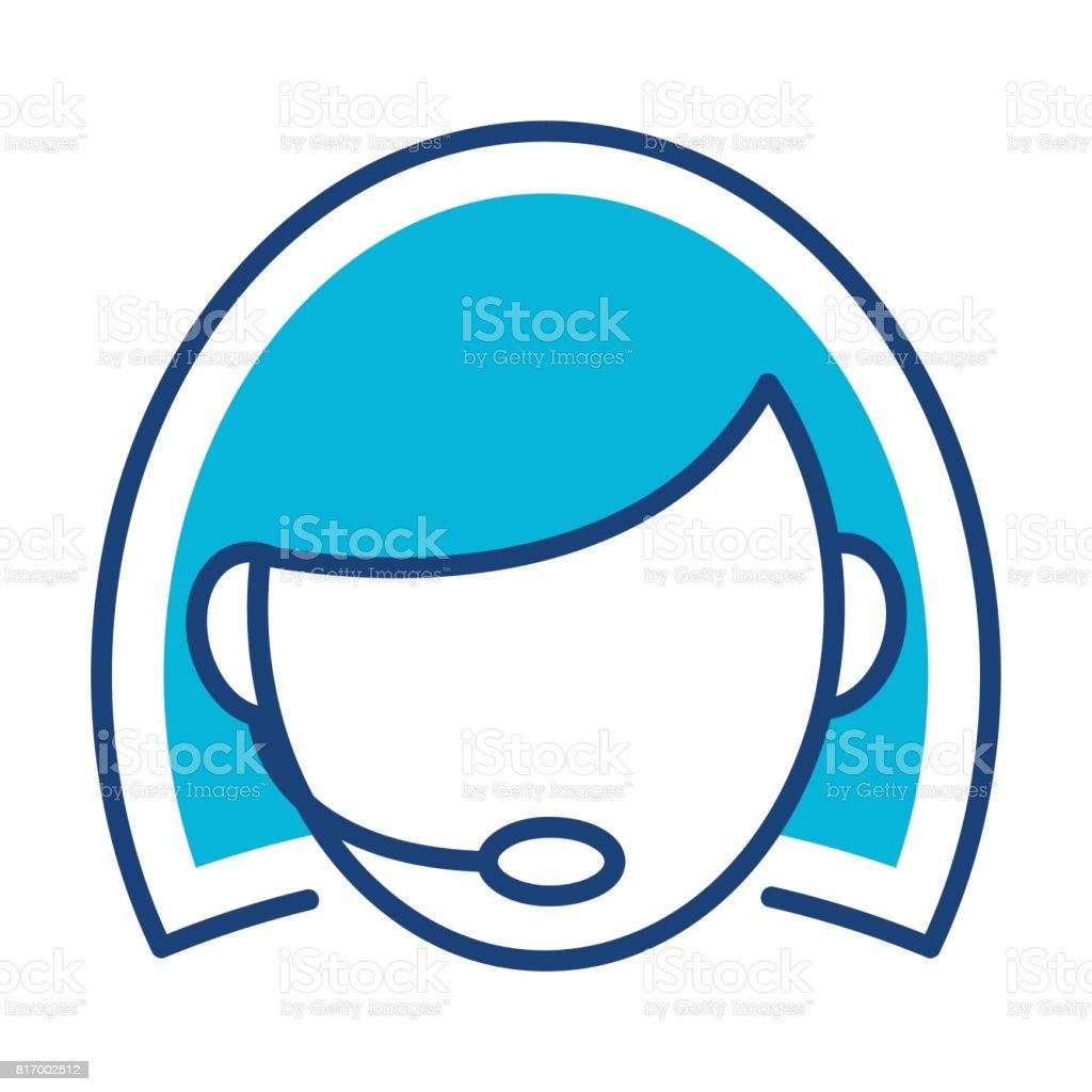 f257536613f3f5 Geïllustreerde pictogram voor klantenservice royalty free geïllustreerde  pictogram voor klantenservice stockvectorkunst en meer beelden van assistent