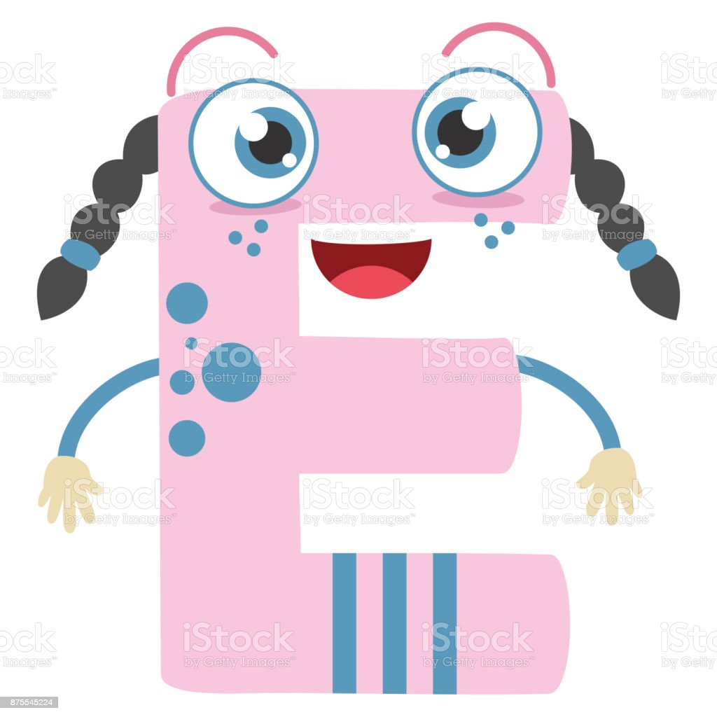 Illustrated Letter E Stock Vector Art & More Images of Alphabet ...