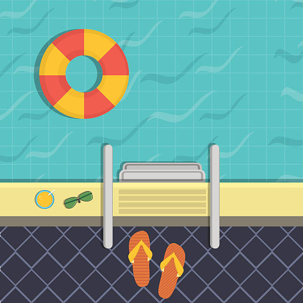 Royalty Free Public Swimming Pool Clip Art, Vector Images ...