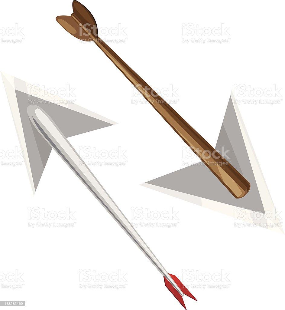 illustration arrow royalty-free stock vector art