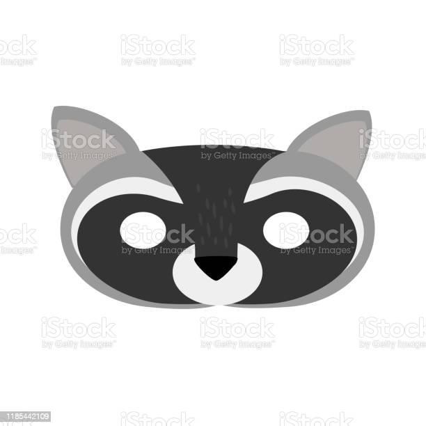 Illustration carnival mask forest animal cartoon gray raccoon vector id1185442109?b=1&k=6&m=1185442109&s=612x612&h=3at7ektsmnlocvd7ewygmtbl7x05yjajtbtnbygl7pw=