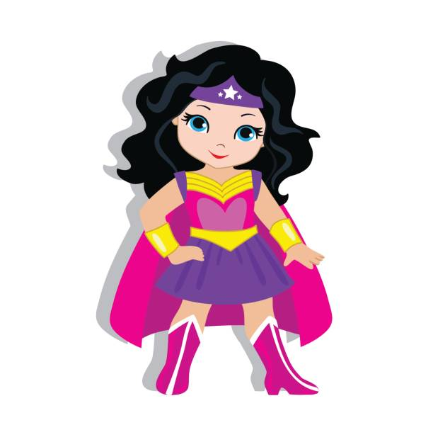 Best Supergirl Illustrations, Royalty-Free Vector Graphics ...
