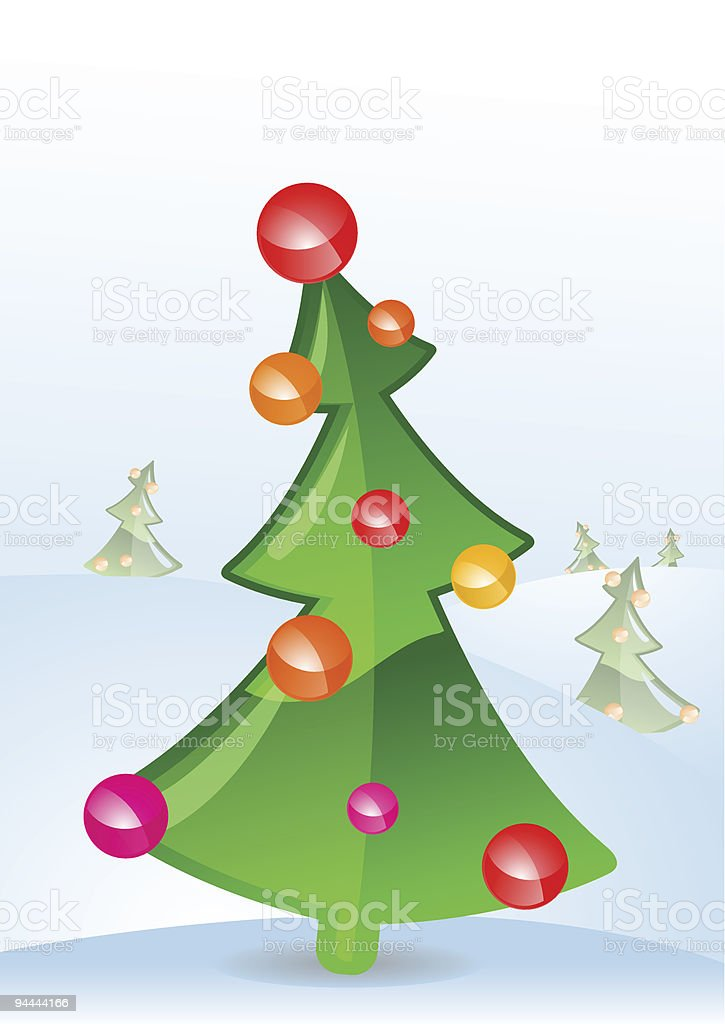 Illustration for a Christmas greeting card royalty-free illustration for a christmas greeting card stock vector art & more images of art and craft