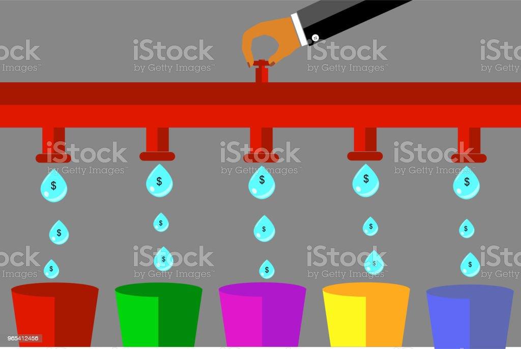 illustration for cost control illustration for cost control - stockowe grafiki wektorowe i więcej obrazów banknot rupii indonezyjskiej royalty-free
