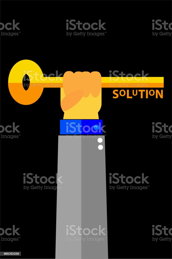 illustration for finding the solution royalty-free illustration for finding the solution stock vector art & more images of advice
