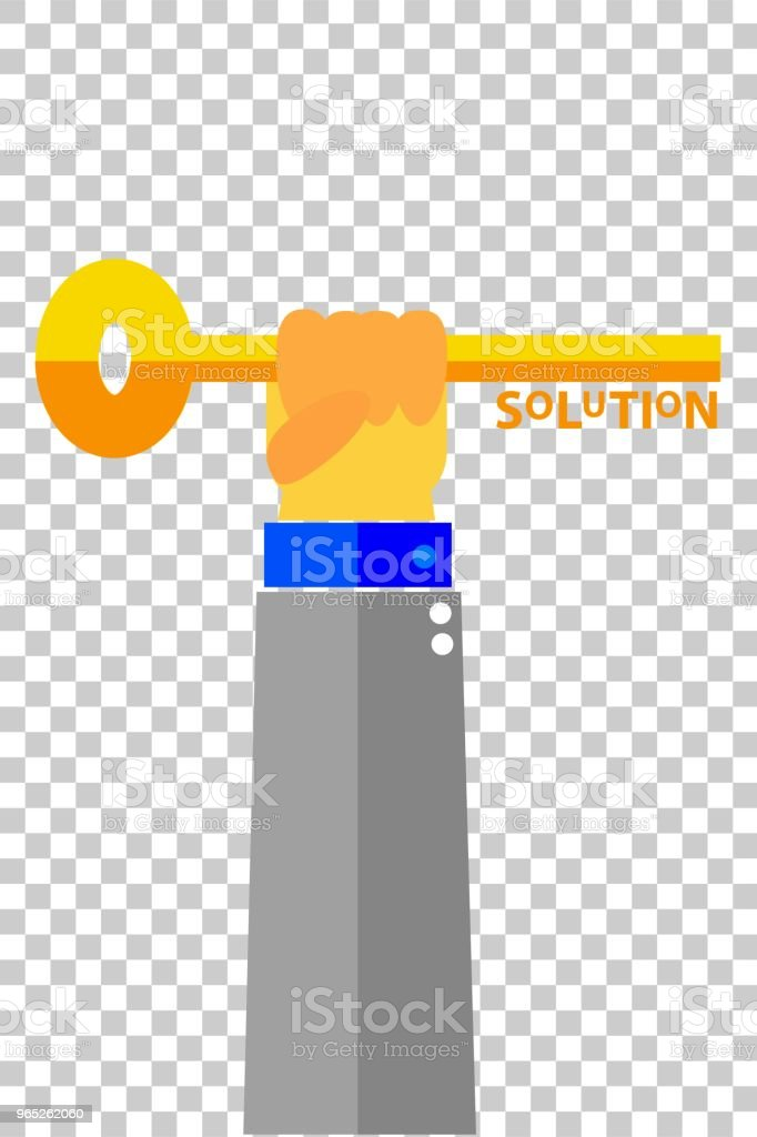 illustration for finding the solution illustration for finding the solution - stockowe grafiki wektorowe i więcej obrazów badania royalty-free