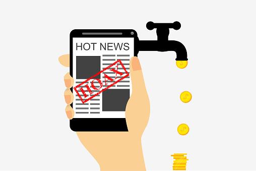 Get에 대 한 그림 사기 또는 가짜 뉴스 적립 경제에 대한 스톡 벡터 아트 및 기타 이미지