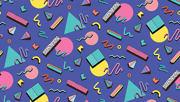 illustration for hipsters style. - fashion backgrounds stock illustrations, clip art, cartoons, & icons
