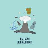 Illustration for Jeju-do island promotion