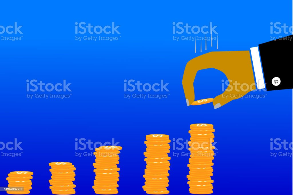 illustration for man invest his money royalty-free illustration for man invest his money stock vector art & more images of no people