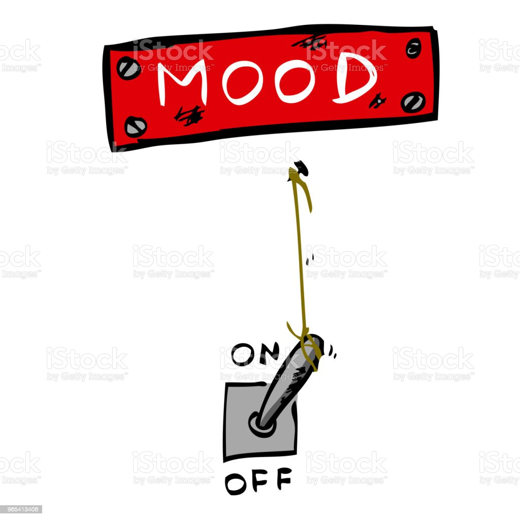 Illustration for Mood Change illustration for mood change - stockowe grafiki wektorowe i więcej obrazów białe tło royalty-free
