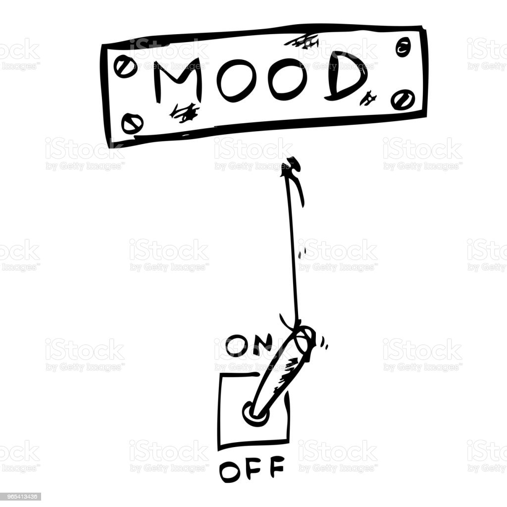 Illustration for Mood Change royalty-free illustration for mood change stock vector art & more images of artificial