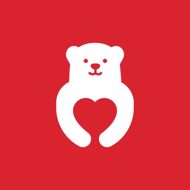 illustrations, cliparts, dessins animés et icônes de illustration pour une carte postale pour les vacances - ours