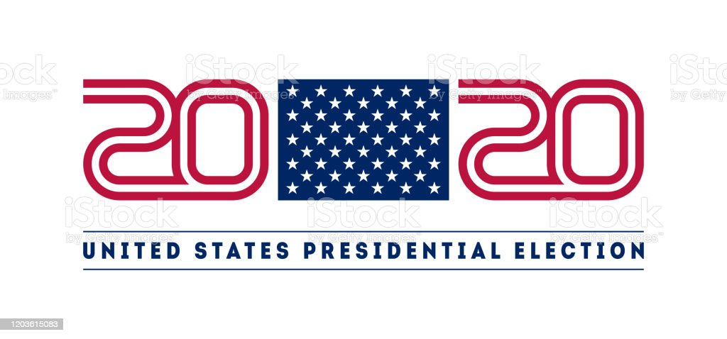 Illustration For The Design Of The Us Presidential Election Layout Template Suitable For Printing Social Media Marketing Web Etc Stock Illustration Download Image Now Istock