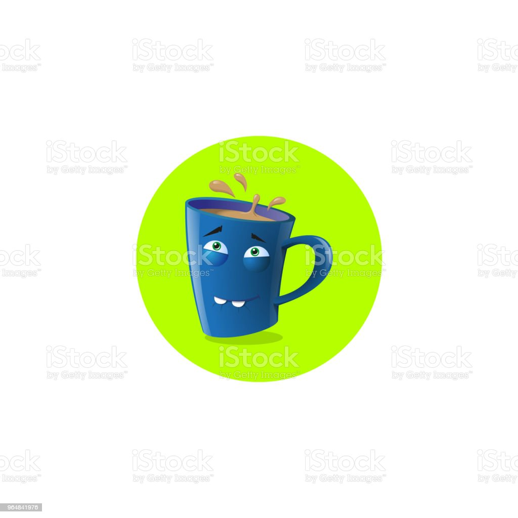 illustration icon funny cartoon mug with two teeth royalty-free illustration icon funny cartoon mug with two teeth stock vector art & more images of anthropomorphic smiley face