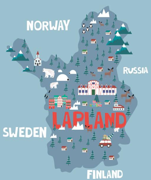 310 Swedish Lapland Illustrations & Clip Art - iStock