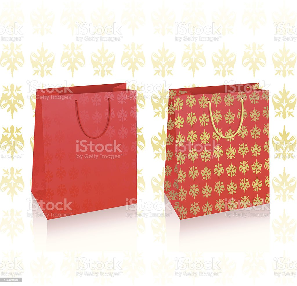 Illustration of 2 vector royal bags royalty-free illustration of 2 vector royal bags stock vector art & more images of activity