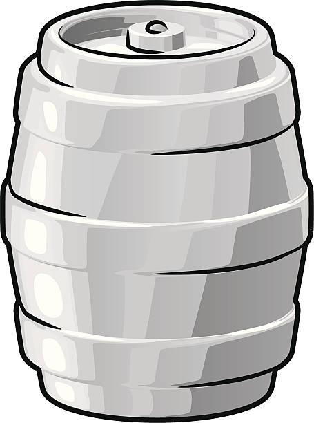 Bier keg – Vektorgrafik
