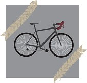 istock Illustration of a bicycle 1270296626