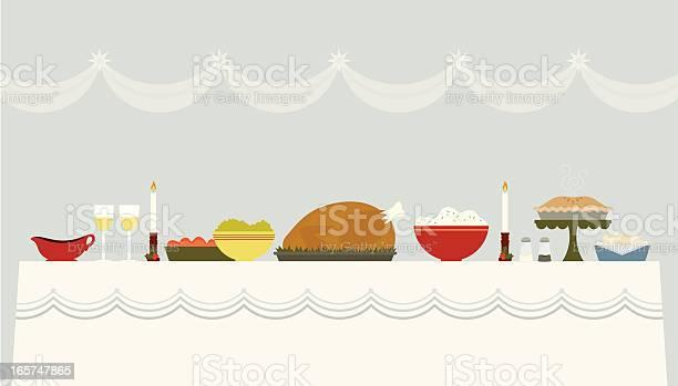 Natale Tabella - Immagini vettoriali stock e altre immagini di Alzata per torte