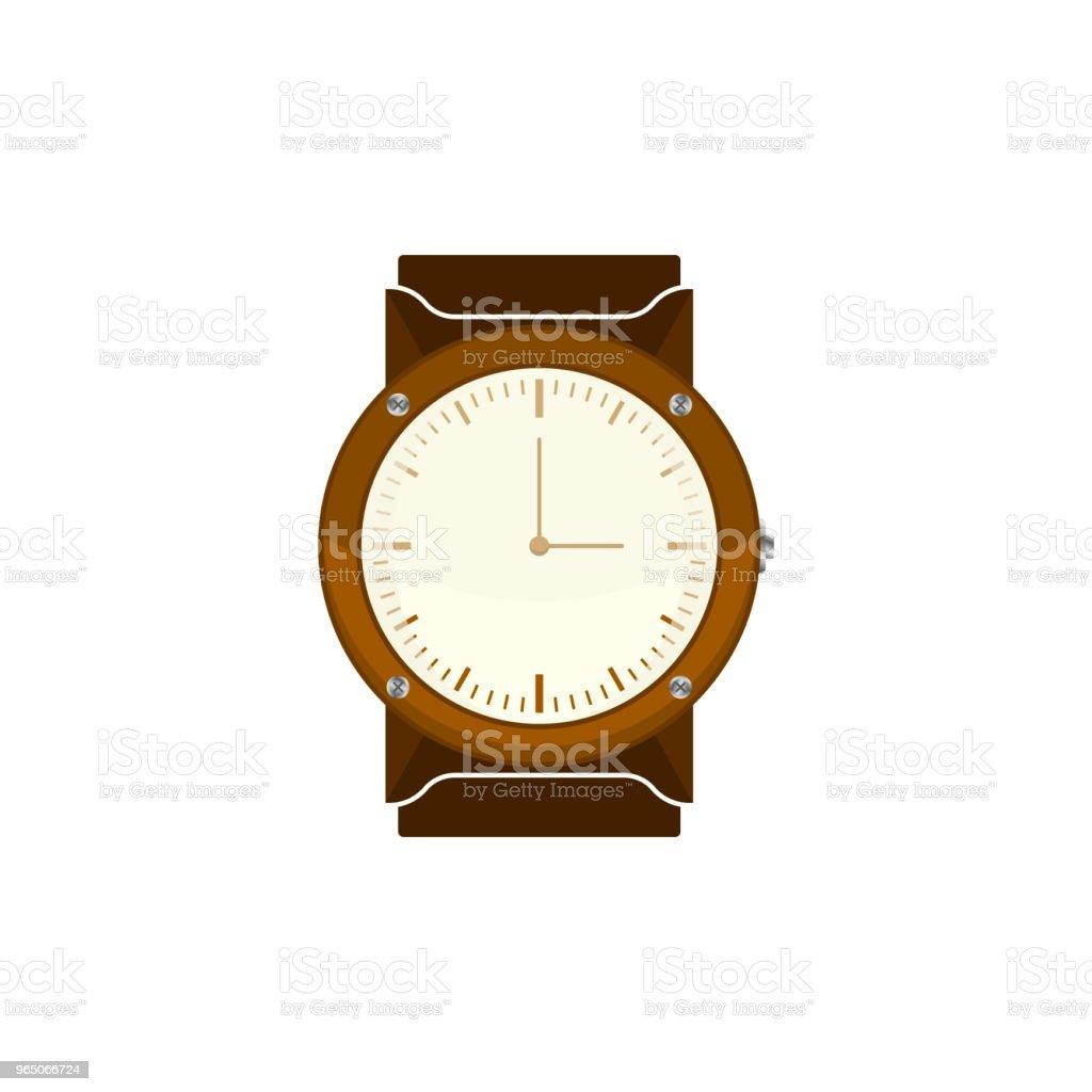 Illustration of a classic clock with an analog clock face. Vector on white background illustration of a classic clock with an analog clock face vector on white background - stockowe grafiki wektorowe i więcej obrazów abstrakcja royalty-free