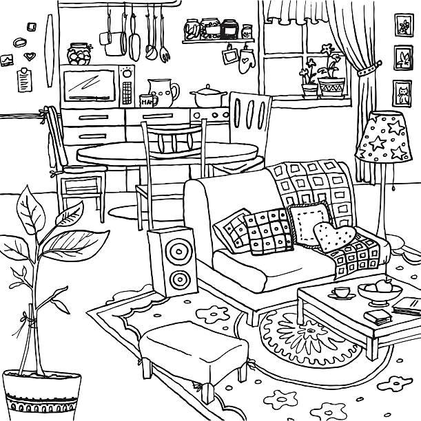 Top 60 Tidy Bedroom Clip Art, Vector Graphics And