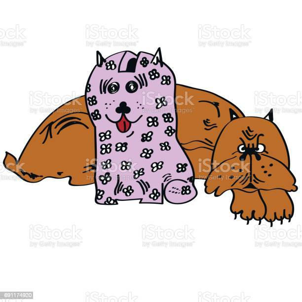 Illustration of a dog with a piggy bank vector id691174920?b=1&k=6&m=691174920&s=612x612&h=5r1xwok1rpexgonhstjmg3myq hreeml1m4zwwqqp u=