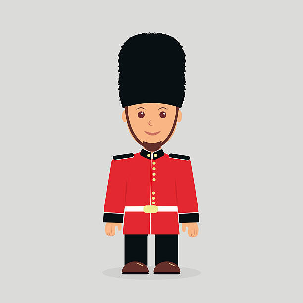 Best British Royal Guard Illustrations Royalty Free Vector
