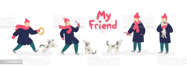 Illustration of a girl playing with a dog vector girl teenager in a vector id1125598695?b=1&k=6&m=1125598695&s=612x612&h=n2ry1bj6afxocot3a2uqpwrlt59rmspeplnidkj8wjo=