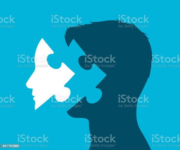 Illustration of a head with missing puzzle piece vector id941752660?b=1&k=6&m=941752660&s=612x612&h=gmv ddidwm2 izgro2l8kod1b6jq9ifk16g1jlgpjso=