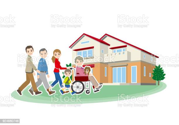 Illustration of a house and the family vector id924680746?b=1&k=6&m=924680746&s=612x612&h=cyzy1 iz9bqi6ycmmthy7rmdyt1mpl7l1kkzozkjc8q=