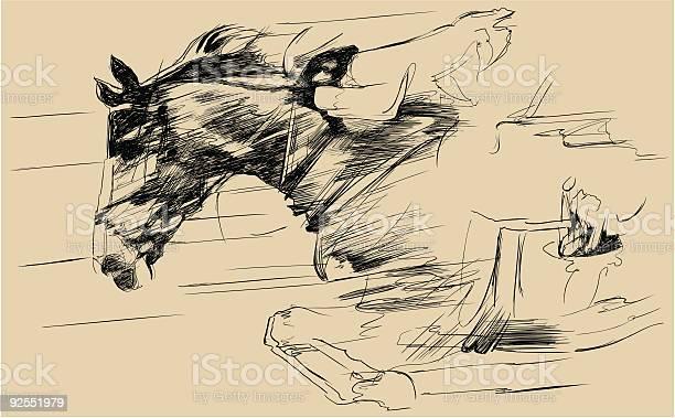 Illustration of a jumping horse and jockey vector id92551979?b=1&k=6&m=92551979&s=612x612&h=qhumz15ehchwnuue5oofyk8uu7bkxba023yq quyqxs=