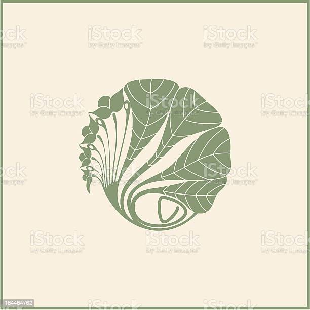 Illustration of a leafy design in muted green color on beige vector id164464762?b=1&k=6&m=164464762&s=612x612&h= 5yrbsjedqexy3syzpgkluk yfmxulqrateyio h2ny=