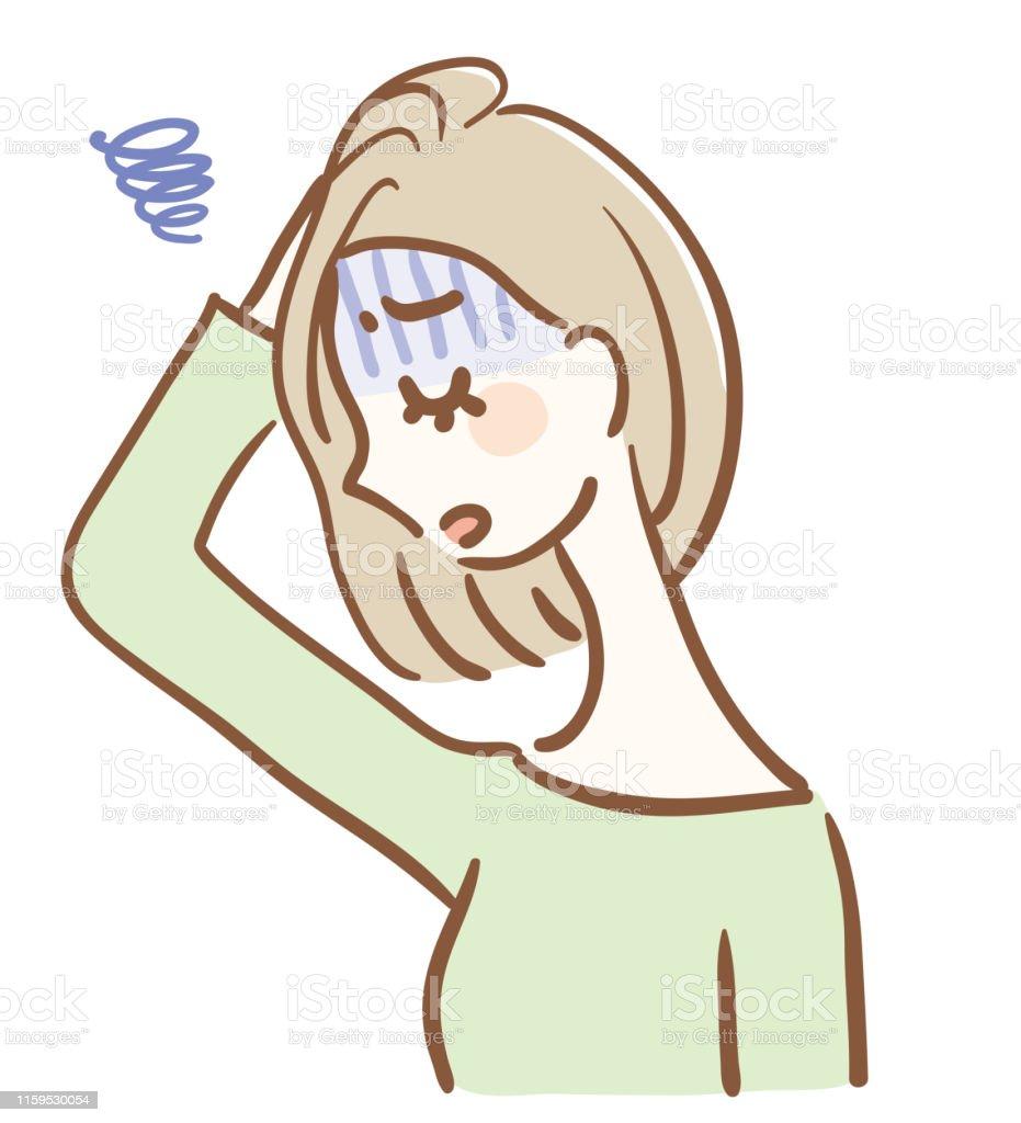 憂鬱な女性のイラスト 1人のベクターアート素材や画像を多数ご用意 Istock