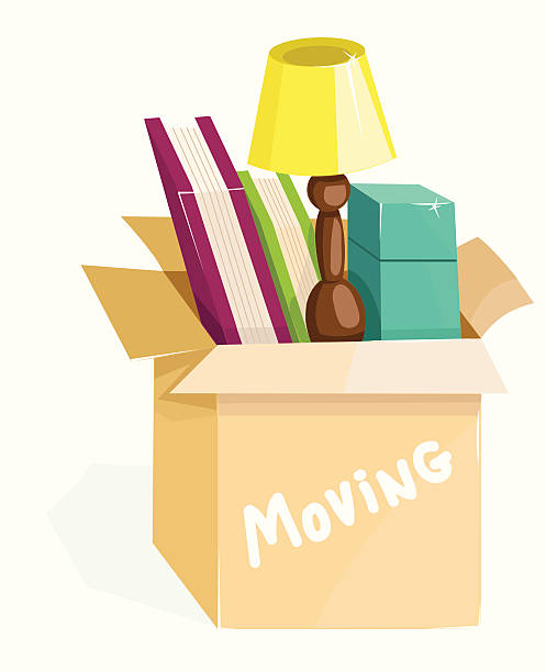 Moving Office Clip Art, Vector Images & Illustrations - iStock