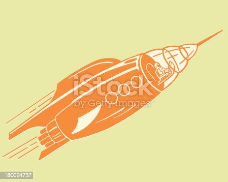 Spacecraft in Flight