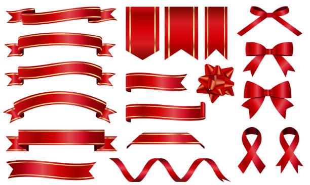 abbildung einer reihe von bändern - band stock-grafiken, -clipart, -cartoons und -symbole