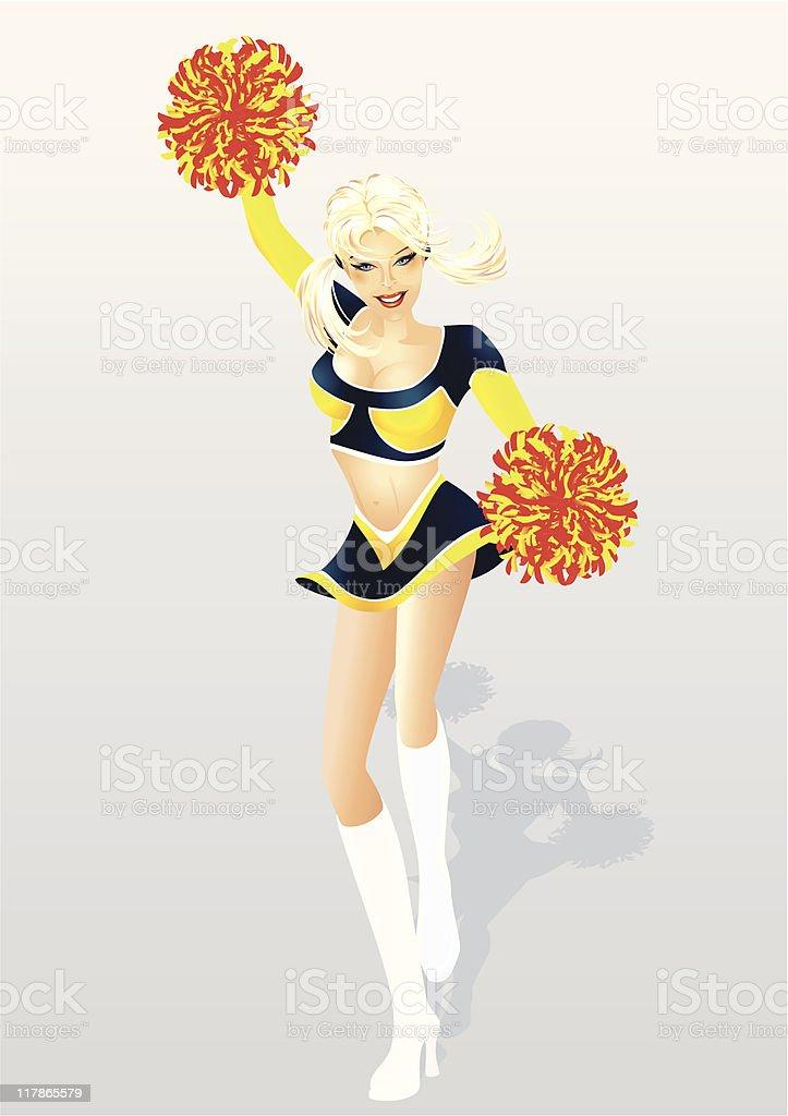 Dessin animé Cheerleader sexe