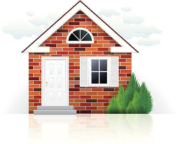 Best Brick House Illustrations, Royalty-Free Vector ...