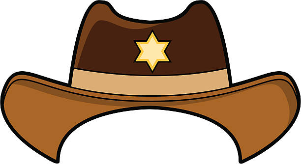 Best Cowboy Hat Illustrations, Royalty-Free Vector ...