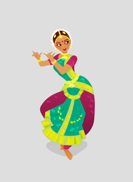 Indian Classical Dance Free Vector Art 13 Free Downloads