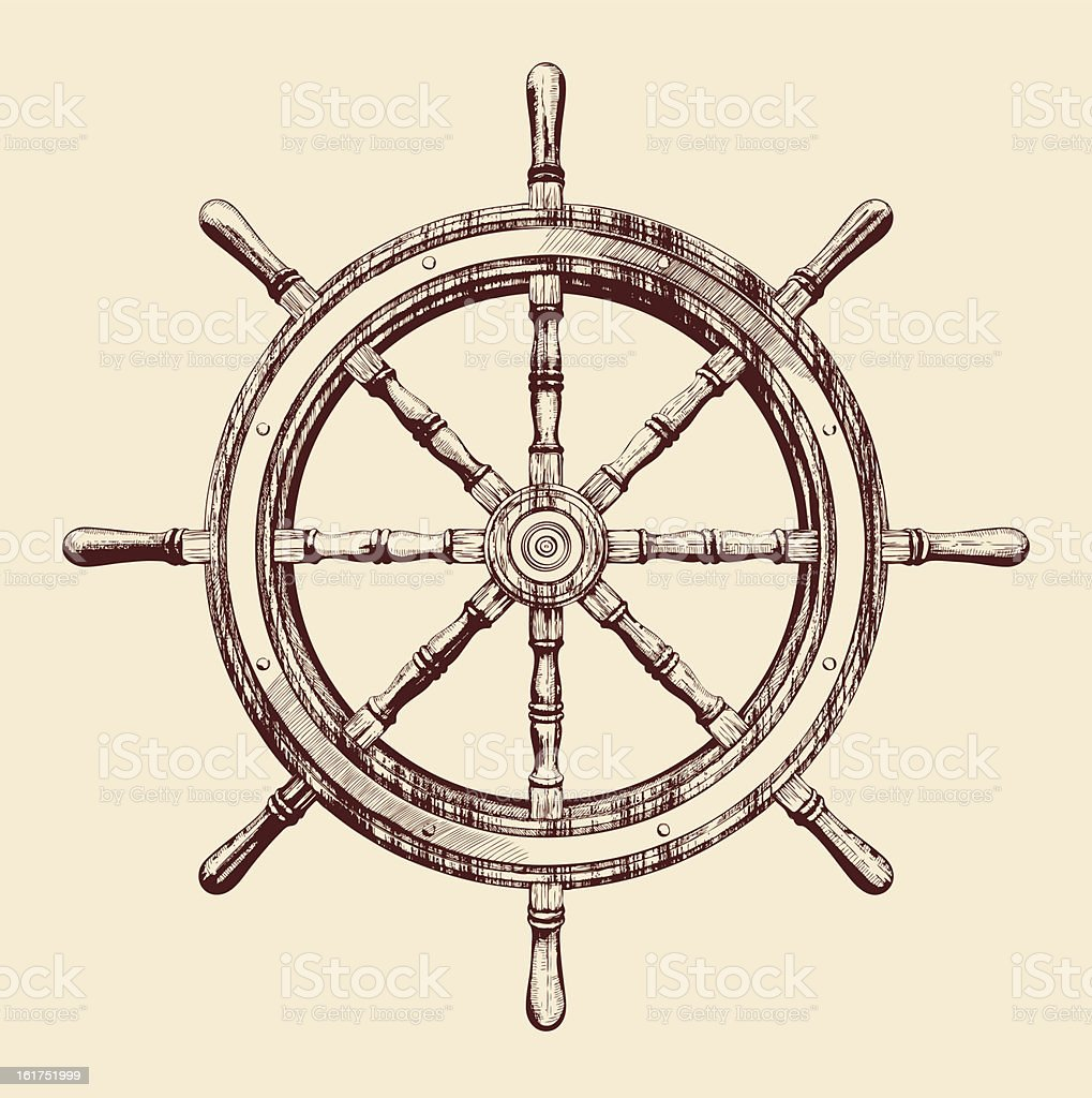 how to make a wooden ship wheel