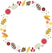 Simple and modern seasonal design. Great as a border for photo opening or copy space. Some transparency used.