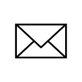istock Illustration of an email. 1140103155