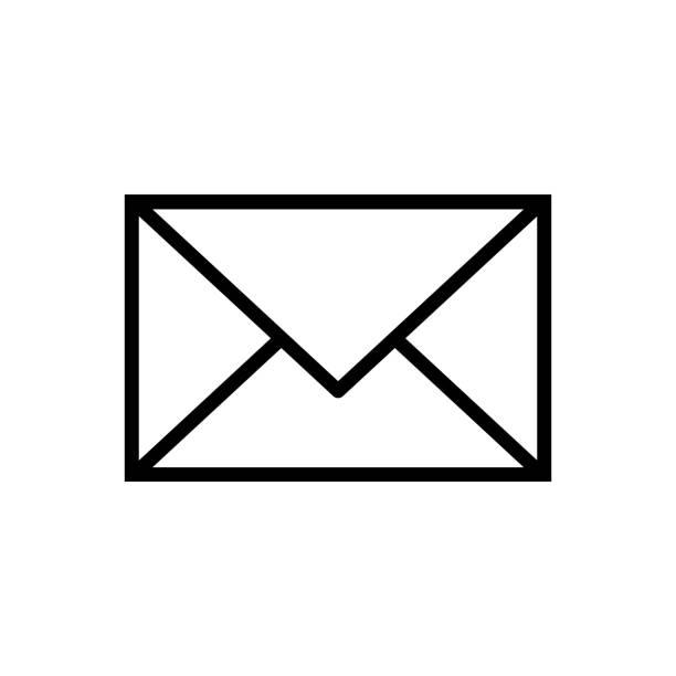 illustrazioni stock, clip art, cartoni animati e icone di tendenza di illustration of an email. - email