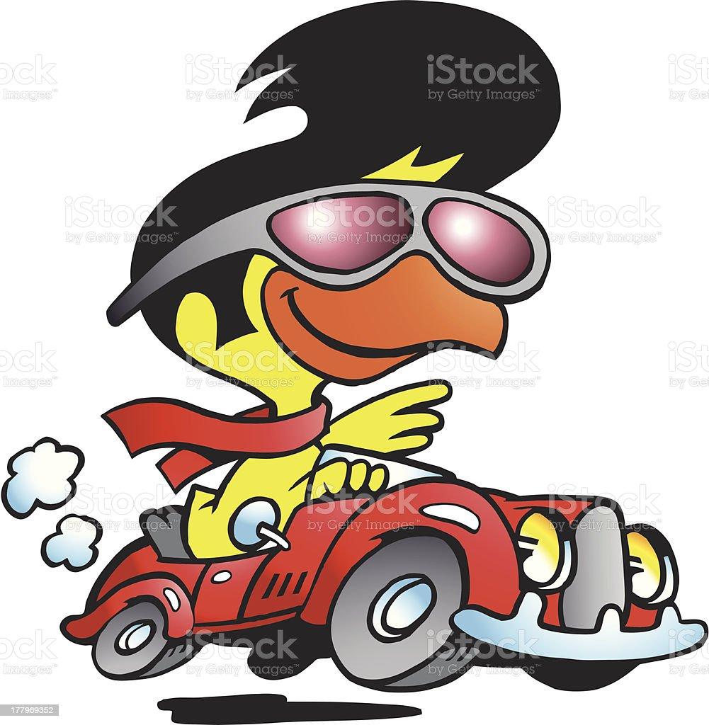 illustration dune smart poulet conduire une voiture de sport cliparts vectoriels et plus d. Black Bedroom Furniture Sets. Home Design Ideas