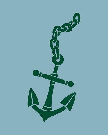 Illustration of anchor