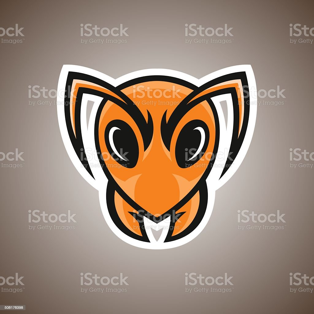 Illustration of ant. Sport mascot. vector art illustration