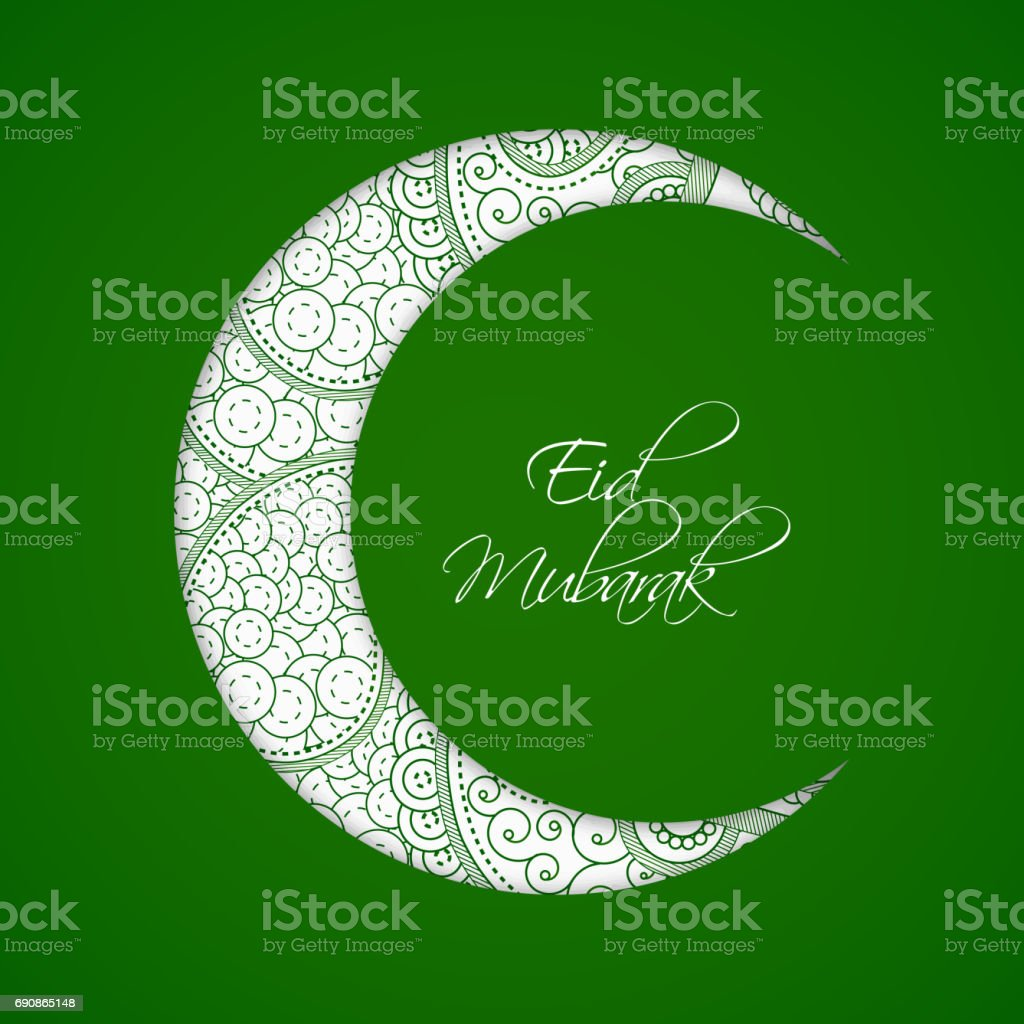 Illustration of background for eid vector art illustration