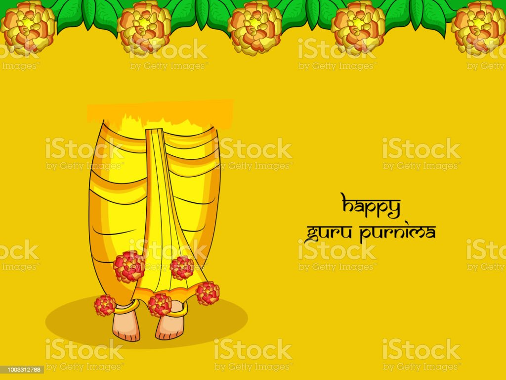 Illustration Of Background For The Occasion Of Hindu